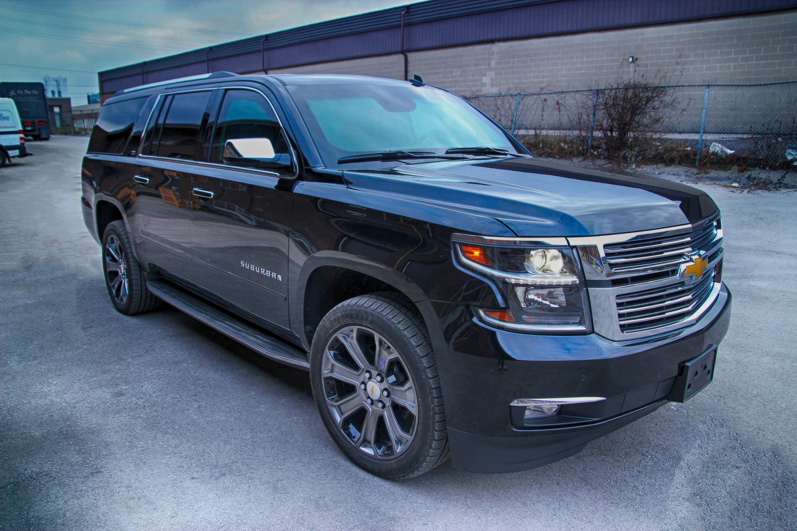 armored suburban 1500 bulletproof chevrolet suv the armored group. Black Bedroom Furniture Sets. Home Design Ideas