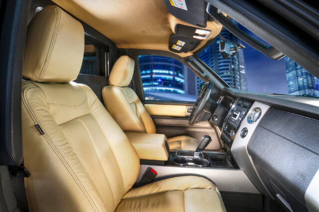 Armored Ford Expedition Presidential full