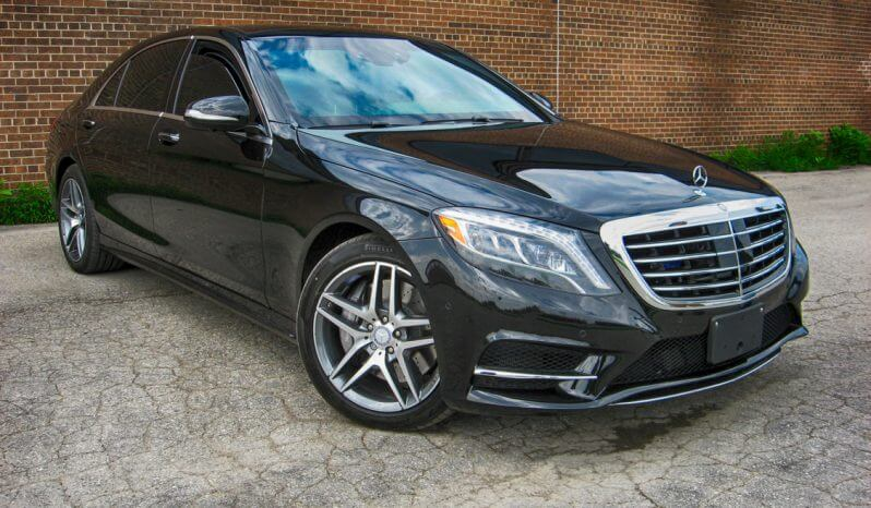 Armored Mercedes S Class full