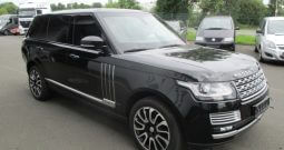 Armored Range Rover Autobiography