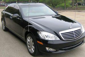 Mercedes Armored Sedan