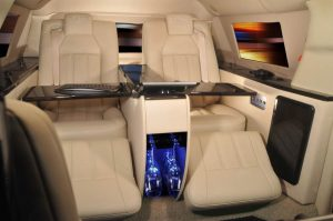 Luxury Armored Vehicle Interior