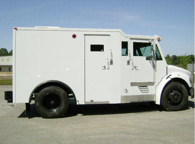 Cash In Transit Truck