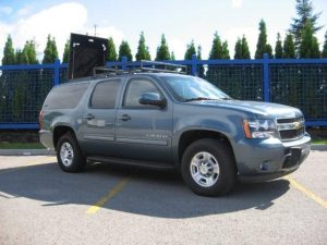 Common Armored Vehicles Used by Executives and Secret Service Armored Chevy Suburban