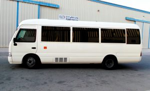 The Armored Group Tackles Unique Automotive Industry Endeavor Toyota Coaster Bus