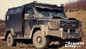 The Armored Group LLC Front Page Truck