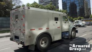 The Armored Group LLC Front Page Trucks