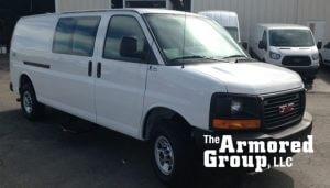 TAG Armored Vehicles GMC Van