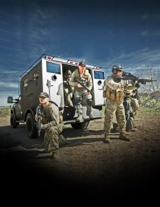 TAG The BATT-S armored vehicle protects 8-12 officers at once