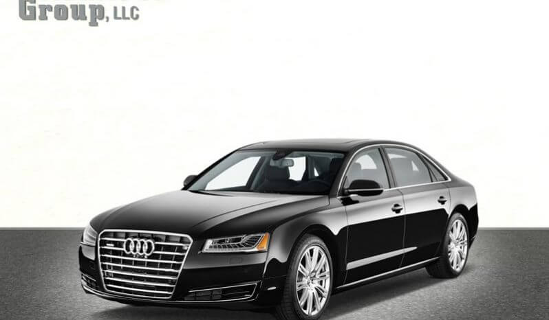 Picture of armored Audi A8L W12 sedan