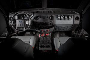 TAG Picture of BATT-APX interior with dual heating and air conditioning systems