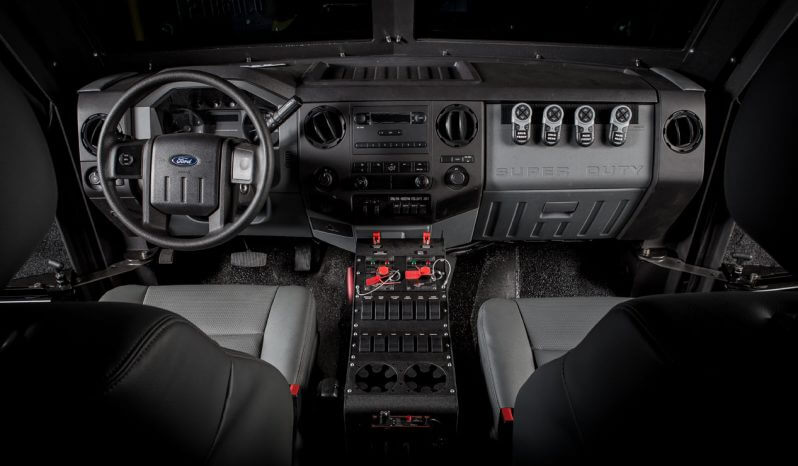 Picture of BATT-APX interior with dual heating and air conditioning systems