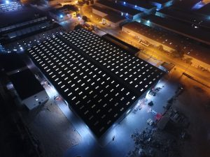 The Armored Group Opens New Manufacturing Facility in the United Arab Emirates Building Lights