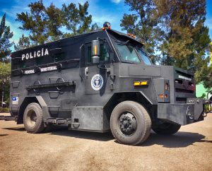 TAG Picture of BATT-XL armored vehicle for law enforcement and tactical teams