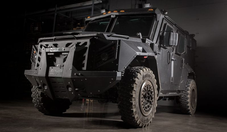 Picture of BATT-APX armed personal carrier vehicle with four-wheel drive