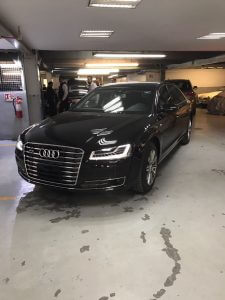 TAG 2015 Armored Audi A8 (VR9) Front Corner