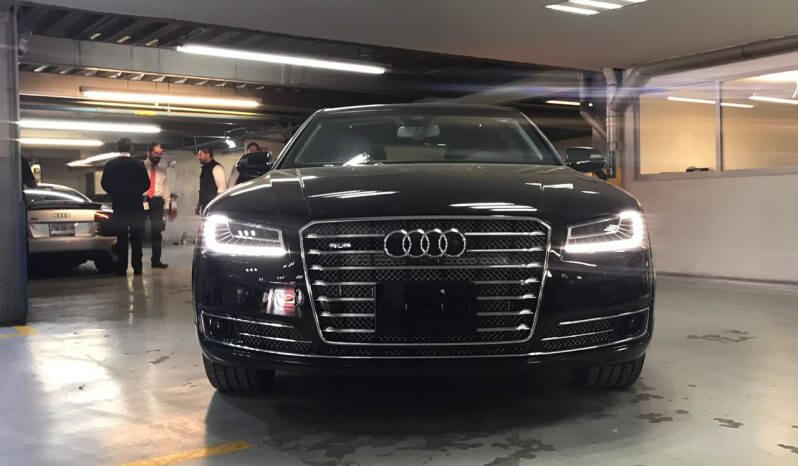 TAG 2015 Armored Audi A8 (VR9) Front