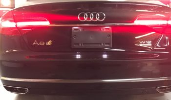 TAG 2015 Armored Audi A8 (VR9) Rear