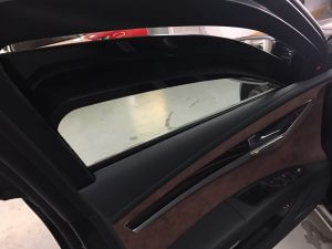 TAG 2015 Armored Audi A8 (VR9) Driver Window