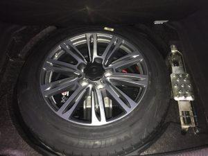 TAG 2015 Armored Audi A8 (VR9) Tire Wheel Rim