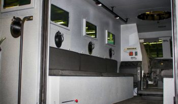 Picture of BATT-XL interior with bench seating
