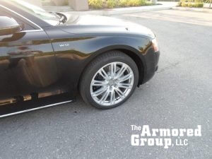 TAG 2015 Armored Audi A8L (VR9) W12 Tire Rims Wheel