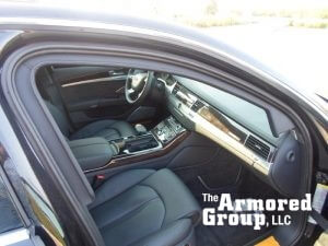 TAG 2015 Armored Audi A8L (VR9) Passenger Seats Dashboard