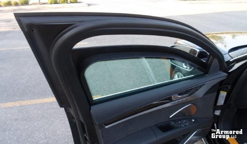 Picture of armored Audi A8L W12 sedan with bulletproof glass