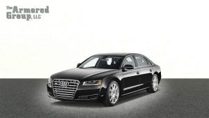 TAG Armored Sedans Audi Front