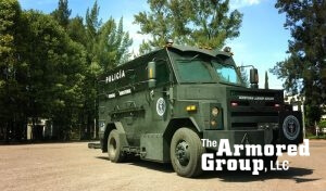 TAG Armored BATT-T Front Corner