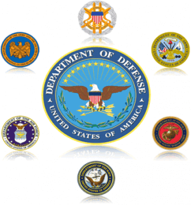 Department of Defense United States of America Logos