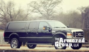 TAG Armored Ford SUV Mobile Commander