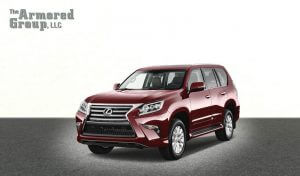 TAG Armored SUV Lexus Front