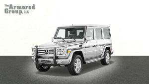 TAG Armored SUV Mercedes Front