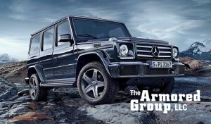 TAG Armored Mercedes SUV Front Corner