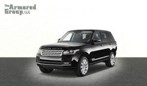 TAG Picture of armored bulletproof Range Rover Autobiography SUV
