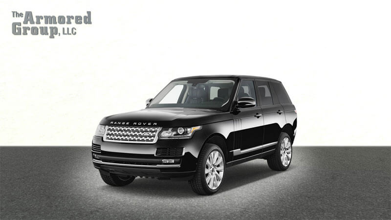 Picture of armored bulletproof Range Rover Autobiography SUV
