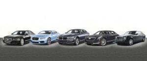 TAG Armored Sedan Banner Audi Bentley BMW Cadillac Rolls Royce