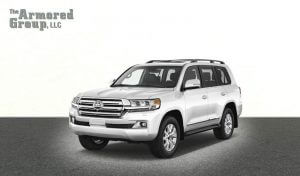 TAG Armored SUV Toyota Front
