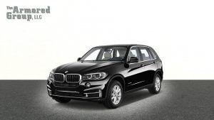TAG Black armored BMW X5 SUV with bulletproof glass picture