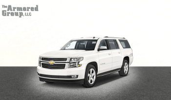 White armored Chevrolet Suburban 1500 SUV picture