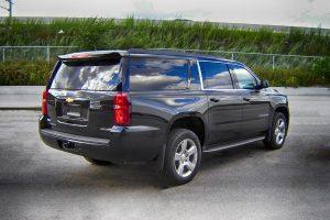 TAG Armored Chevrolet Suburban 1500 Rear Corner