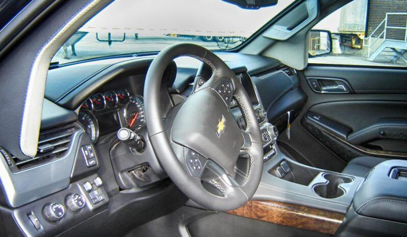 Interior of Chevrolet Suburban 1500 tactical SUV picture