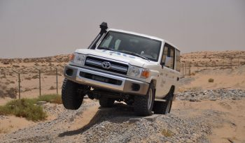TAG Armored Toyota Land Cruiser 76 Series Offroading