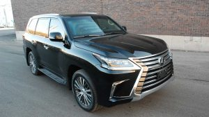 TAG Armored Lexus LX570 Front Corner