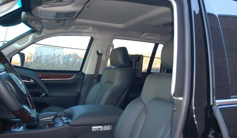 Interior of Bulletproof Lexus LX570 SUV