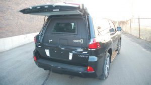 TAG Armored Lexus LX570 Rear Bullet Proof Door