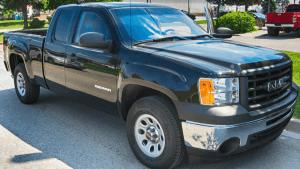 TAG Black bulletproof GMC Sierra 2500 truck picture