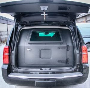 TAG Armored Chevrolet Suburban 1500 Rear Bullet Proof Door