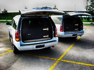 TAG Armored GMC Yukon Denali Back Hatch Open Two